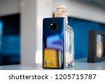 riga  october 2018   recently... | Shutterstock . vector #1205715787