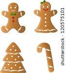 gingerbread | Shutterstock .eps vector #120575101