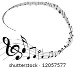 vector illustration of musical... | Shutterstock .eps vector #12057577