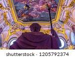 madrid  spain   23 september... | Shutterstock . vector #1205792374
