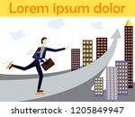 vector concept illustration for ... | Shutterstock .eps vector #1205849947