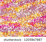 art abstract colorful grunge... | Shutterstock . vector #1205867887
