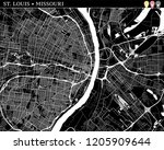 simple map of st. louis ...   Shutterstock .eps vector #1205909644