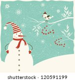 christmas decoration with... | Shutterstock .eps vector #120591199
