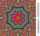 festival art seamless pattern....   Shutterstock .eps vector #1205942311
