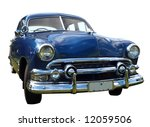 1952 v8 custom car  isolated... | Shutterstock . vector #12059506