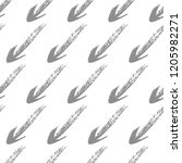 seamless pattern with hand...   Shutterstock .eps vector #1205982271