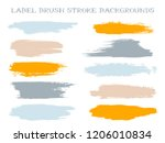 abstract label brush stroke... | Shutterstock .eps vector #1206010834