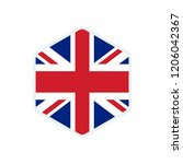 united kingdom flag. united... | Shutterstock .eps vector #1206042367