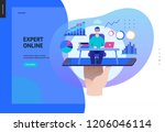 business series  color 2  ... | Shutterstock .eps vector #1206046114