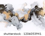abstract ink and acrylic... | Shutterstock . vector #1206053941