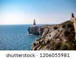 Gibraltar, United Kingdom, 2nd October 2018:-Trinity House, Lighthouse, Europa Point, Gibraltar. Gibraltar is a British Overseas Territory located on the southern tip of Spain. - stock photo