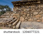 the funerary compound of ichic... | Shutterstock . vector #1206077221