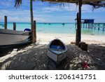 the mantanani islands form a... | Shutterstock . vector #1206141751