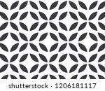 flower pattern vector ... | Shutterstock .eps vector #1206181117