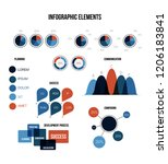ads report visualisation... | Shutterstock .eps vector #1206183841