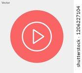 play vector icon 10 eps
