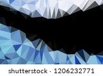 dark blue vector blurry hexagon ...   Shutterstock .eps vector #1206232771