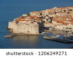 croatian coast scenery | Shutterstock . vector #1206249271