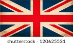 grunge flag of united kingdom   Shutterstock .eps vector #120625531