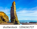 picturesque rocks  on the... | Shutterstock . vector #1206261727