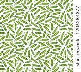 seamless endless pattern of... | Shutterstock .eps vector #1206284377