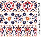 Seamless Vintage Pattern....
