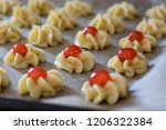 preparation phase of italian... | Shutterstock . vector #1206322384