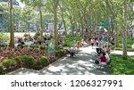new york city  usa   july 4 ... | Shutterstock . vector #1206327991