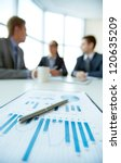 business document on background ... | Shutterstock . vector #120635209