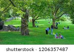 central park  manhattan new... | Shutterstock . vector #1206357487