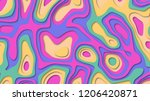abstract color cover. drop... | Shutterstock . vector #1206420871