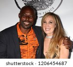 Small photo of LOS ANGELES - OCT 16: Jimmy Jean-Louis, Cindy Cowan at the Women Empowering Women - The Unstoppable Warrior at the Yamashiro Hollywood on October 16, 2018 in Los Angeles, CA