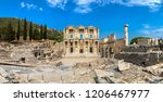 panorama of ruins of celsius... | Shutterstock . vector #1206467977
