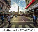 buenos aires  argentina  ... | Shutterstock . vector #1206475651
