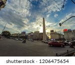 buenos aires  argentina  ... | Shutterstock . vector #1206475654