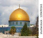 The Mousque Of Al Aqsa  Dome...