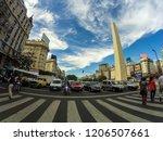 buenosaires  argentina  ... | Shutterstock . vector #1206507661