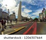 buenosaires  argentina  ... | Shutterstock . vector #1206507664