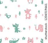 animal character vector   Shutterstock .eps vector #1206519661