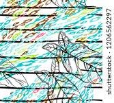 tropical  stripe  animal motif. ...   Shutterstock .eps vector #1206562297