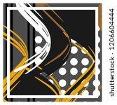 modern art design perfect for... | Shutterstock .eps vector #1206604444
