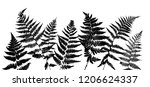 vector green background with... | Shutterstock .eps vector #1206624337