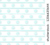 bright blue and white snowy and ... | Shutterstock .eps vector #1206635644