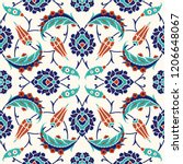 floral pattern for your design. ...   Shutterstock .eps vector #1206648067