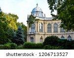 vajdahunyad castle part   Shutterstock . vector #1206713527