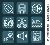 contains such icons as... | Shutterstock .eps vector #1206718267