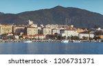 port of ajaccio  seaside view....   Shutterstock . vector #1206731371