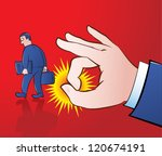 vector illustration of a giant... | Shutterstock .eps vector #120674191