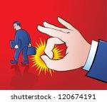 vector illustration of a giant... | Shutterstock .eps vector #120674191